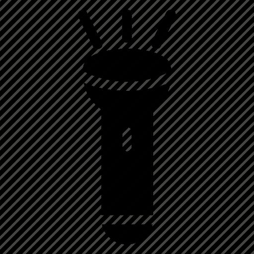 battery, brightness, flashlight, light, pockettorch, torch, torchlight icon