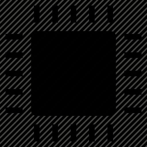 chip, computer, cpu, electronic, microchip, pc, processor icon