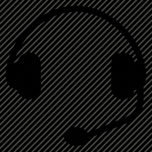 Sound, headset, headphone, recording, music, voice, earphones icon