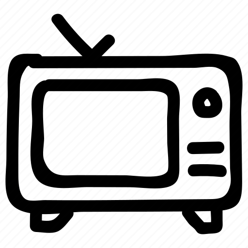 device, display, front, movie, television, tv, watch icon
