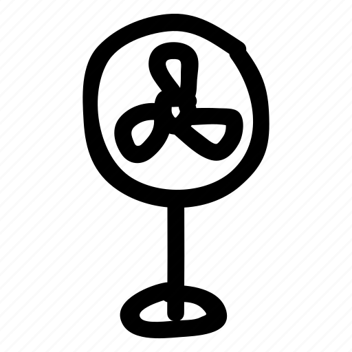 air, blower, cool, cooler, electric, fan, refresh icon