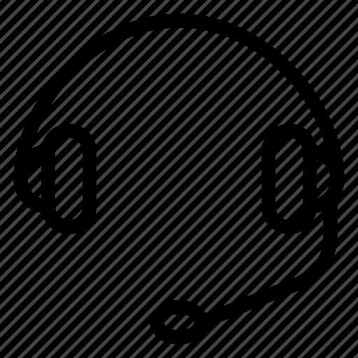 earphones, headphone, headset, music, recording, sound, voice icon