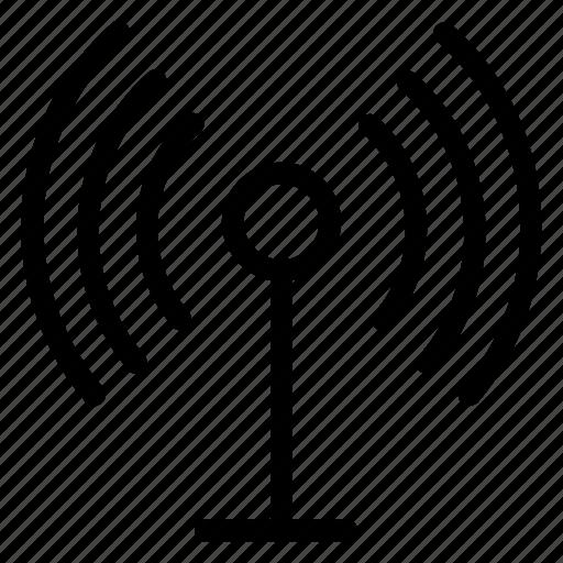 Map, satellite, antenna, signal, tower, datasignal, gps icon