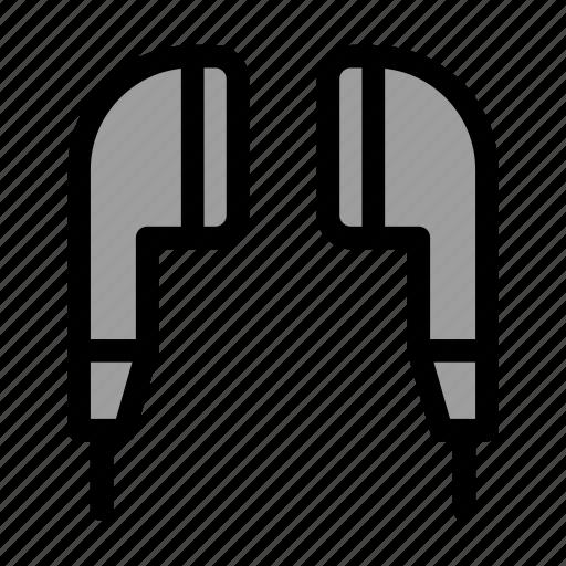 Earbuds, earpiece, handsfree, headphones icon - Download on Iconfinder