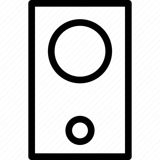 audio, loud speaker, music, sound, speaker, volume, woofer icon