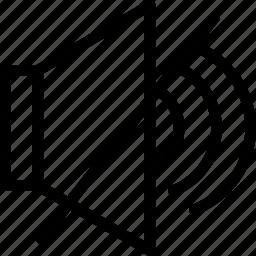 mute, off, silent, sound, volume icon