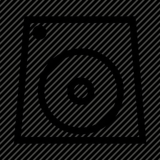 player, speaker, volume icon