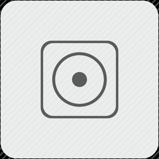 dot, function, key, keyboard icon