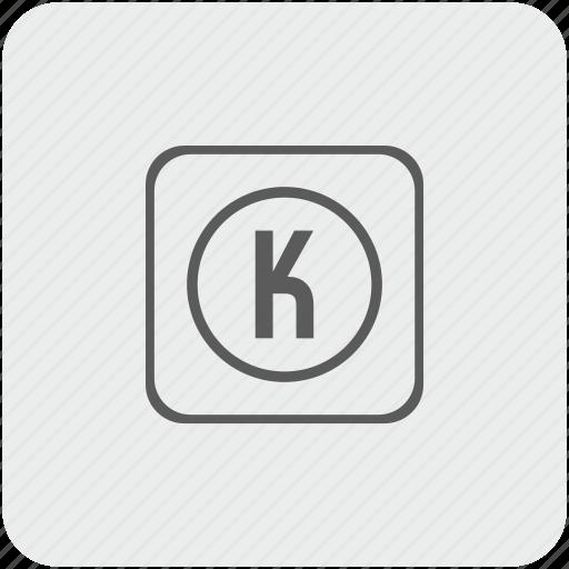 function, k, key, keyboard icon