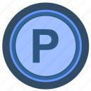 elevator, level, parking, select icon