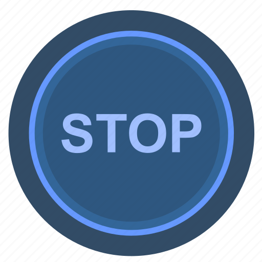 elevator, engine, function, stop icon
