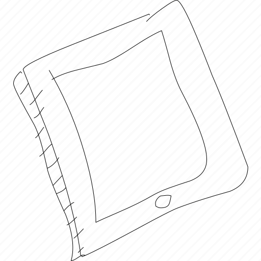 blank tablet, device, ipad, mobile, simplediagrams, tablet icon