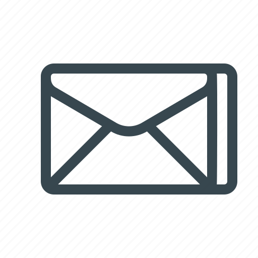 email, envelope, inbox, letter, mail, newsletter, subscription icon
