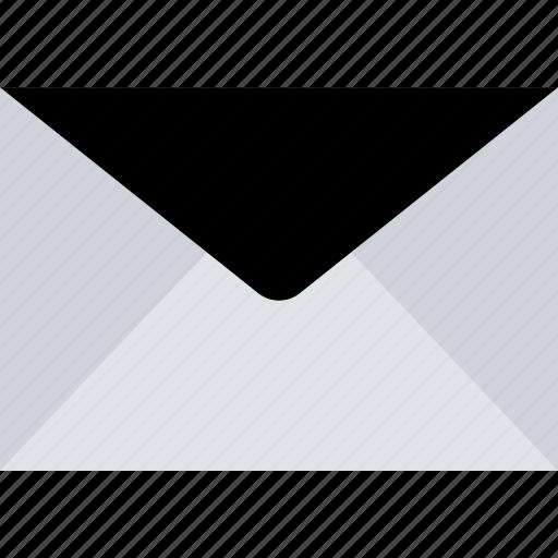 dark, email, message, spam icon