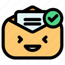 tick, check, ok, checklist, accept, email, communication