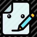 write, pen, document, paper, sheet, email, communication