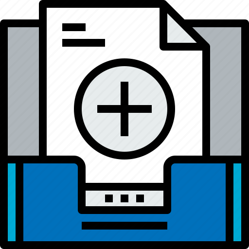 add, address, communication, inbox, information, mailbox icon