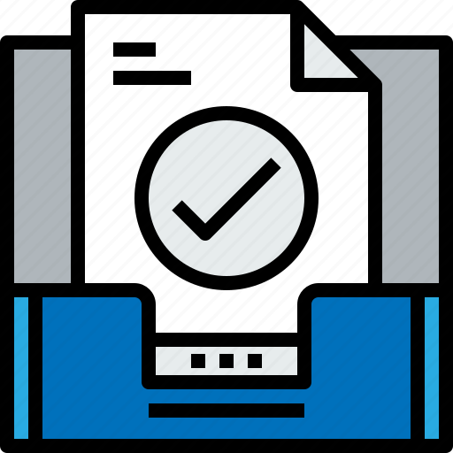 address, check, communication, inbox, information, mailbox icon