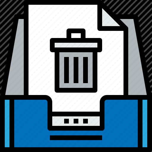 address, bin, communication, inbox, information, mailbox, s icon