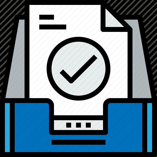 address, check, communication, inbox, information, mailbox, s icon