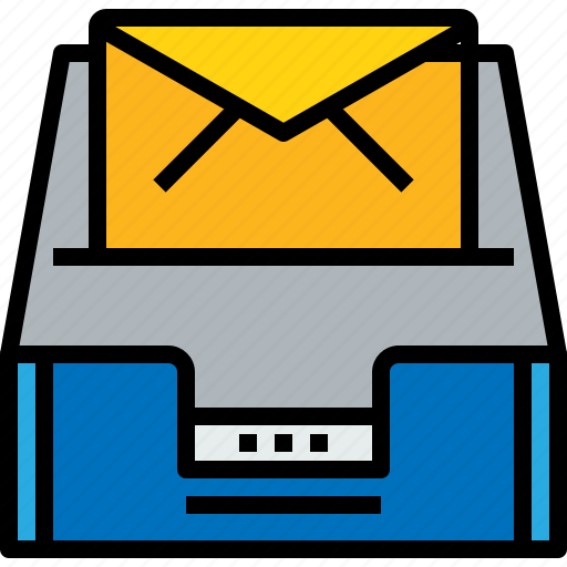 address, communication, inbox, information, mail, mailbox, s icon