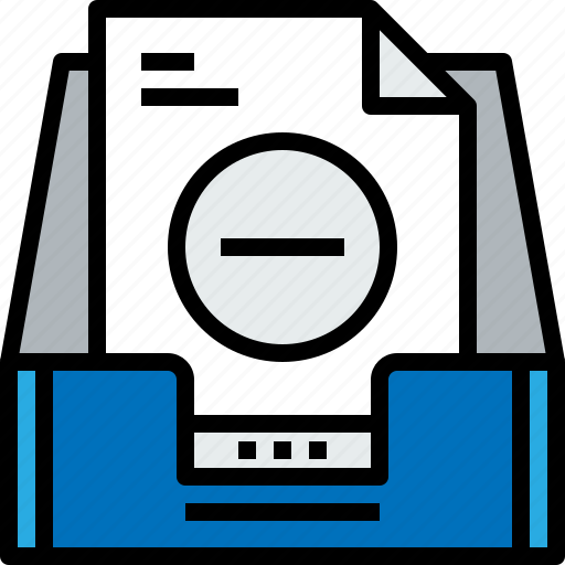 address, communication, inbox, information, mailbox, remove, s icon