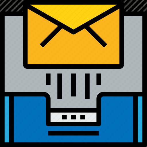 address, communication, inbox, information, mailbox, send icon