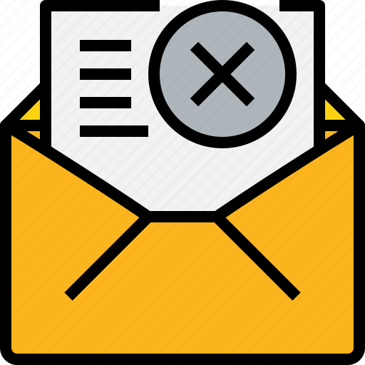 address, communication, information, mail, mailbox, open, x icon