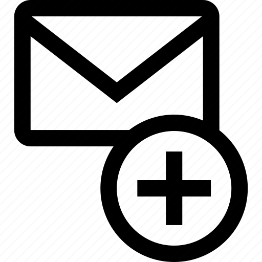 add, mail, message, send icon