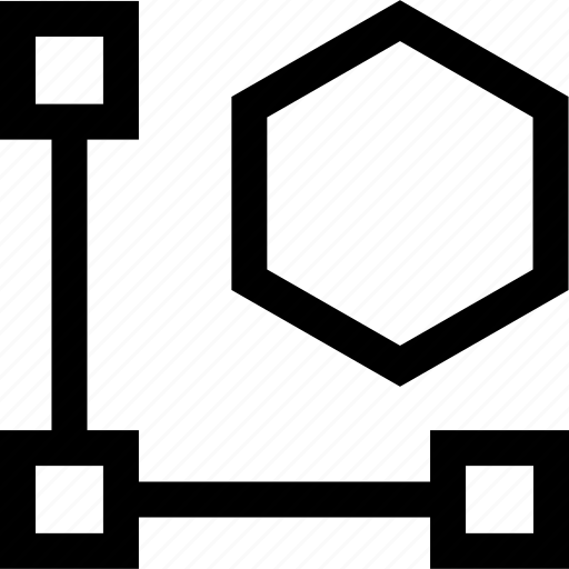 connect, creative, three icon