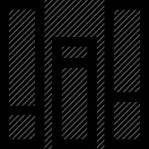 bars, creative, data, graph icon