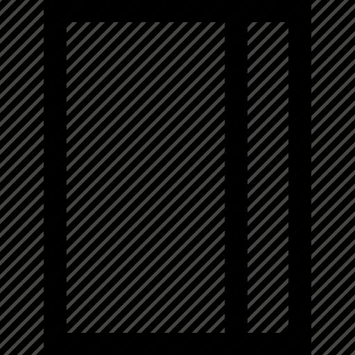 creative, line, rectangle icon