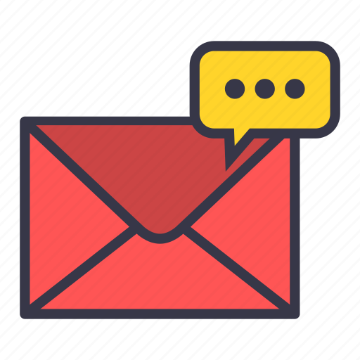 bubble, chat, conversation, cooment, email, mail, message icon