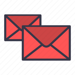 communication, email, emails, mail, message, receive, send icon