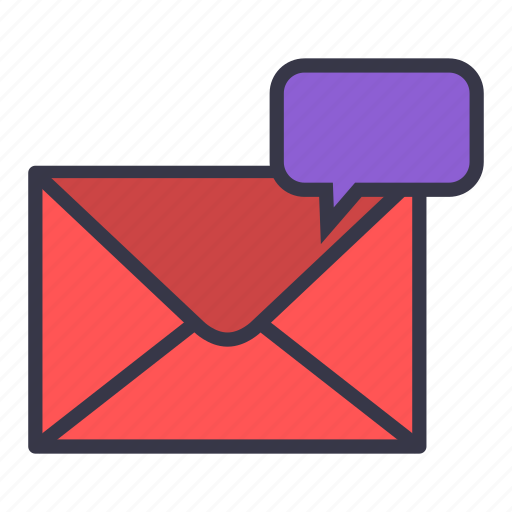 chat, cooment, dialouge, email, envelope, mail, message icon