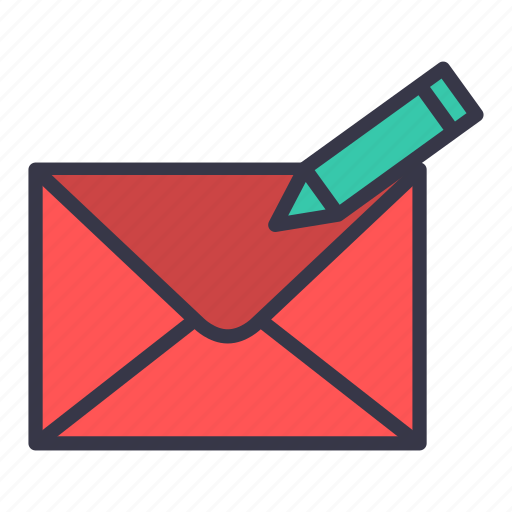 compose, email, mail, message, new, pencil, write icon
