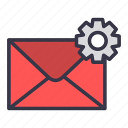 change, configuration, email, envelope, mail, message, setting icon