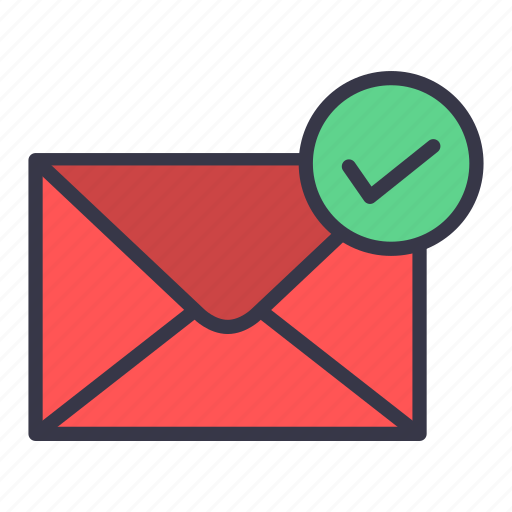 done, email, envelope, mail, message, sent, successful icon