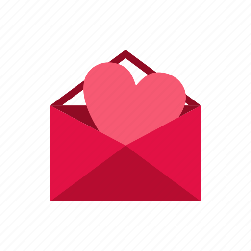day, element, heart, letter, love, romantic, valentine icon