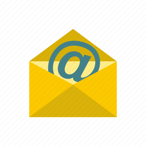 address, communication, e-mail, internet, letter, mail, message icon