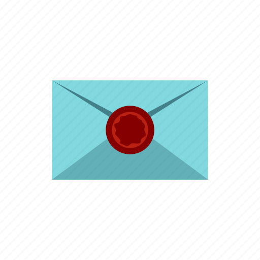 communication, internet, letter, mail, message, sealing, wax icon
