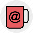 at, coffee, cup, drink, mug, tea icon