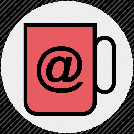 at, coffee, cup, drink, mug, tea icon