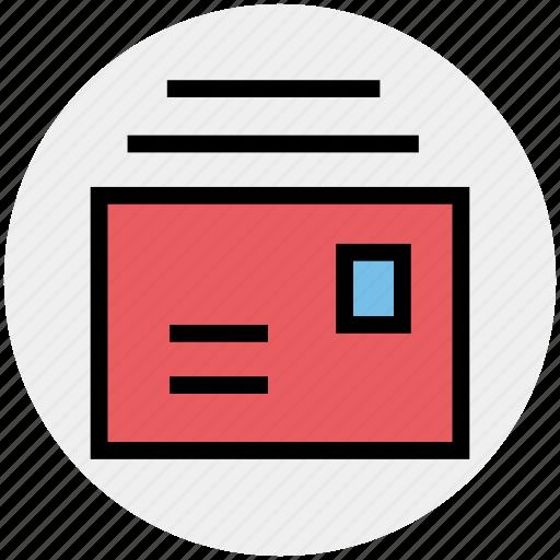 envelopes, letters, mail, messages icon