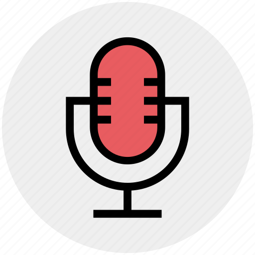 audio, mic, microphone, record, song, voice icon