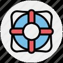 float, life, sea, ship, tube, water tube icon