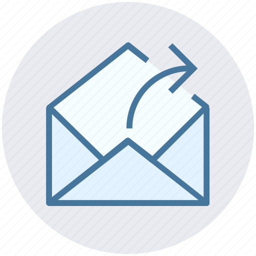 email, envelope, letter, mail, message, received icon