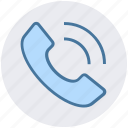 call, contact, phone, receiver, telephone icon