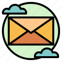 communication, email, envelope, message