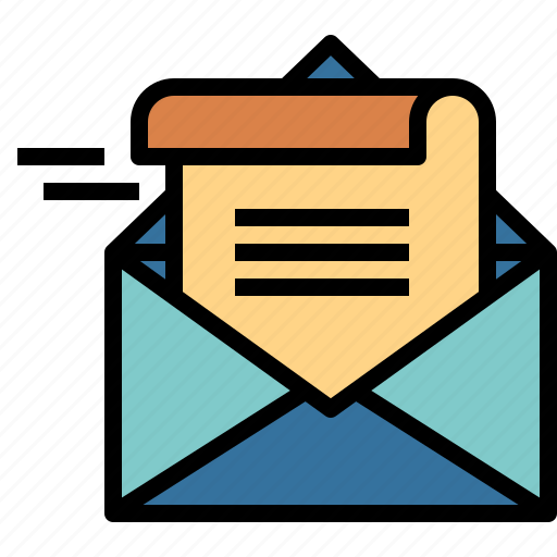 communications, email, newsletter, template icon